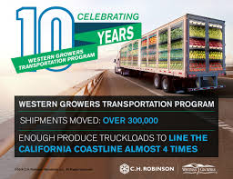 Let's Celebrate: The Western Growers Transportation Program Turns 10 ... Ch Robinson Worldwide A Rare Candle Pattern Emerges Ahead Of C H Wikipedia Manage Temperature Controlled Transportation With Trucking Quality Carriers Global Forwarding Think You Know The Facts Transportfolio Ch Truck My Lifted Trucks Ideas Responding To Uber Freight Technology And How Reduce Truckload Detention Delays Appeal Usf Holland Profit Jumps On Demand Pricing Growth Wsj