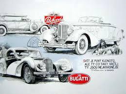 Art Antique Classic Realistic Graphite Car Tesla Motors Club Vintage Cars Drawings