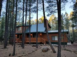 Arizona Vacation Rentals Cabin Rentals in the White Mountains AZ