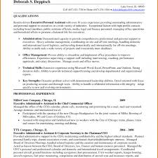 Sample Resume For Executive Assistant To Ceo Fresh Resumes Personal Assistants Sarahepps