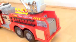 100 Fire Truck Accessories Unboxing 67cm Long Chad Valley Rescue Engine For Kids With
