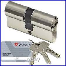 barillet securite porte entree cylindre de securite vachette v6 barillet 30 x 40 pour serrure de