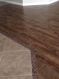floor transition tile to wood best 25 transition flooring ideas on