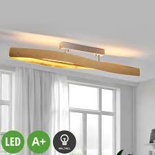 lenwelt led deckenleuchte lian gold dimmbar deckenle wohnzimmer modern