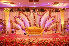 Marvellous Indian Wedding Stage Decoration With Flowers 39 Additional Vintage Table Decor