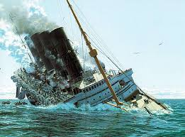 ss britannic sinking images reverse search