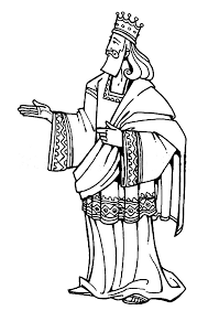 Holiday Coloring Pages King Josiah Page Solomon David Harp