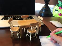 5X/Set 1:12 Miniature Furniture Dining Table And Chairs For ... Table And Chair Set Fits 18 Dolls Diy Ding Chairs For American Girl Mentari Wooden Dollys Tea Party Setting Inclusive Of 2 By Mamagenius House Eames Kspring Thingiverse Pin On Lundby Dollhouse Room Miaimmiaturesbring Dolls Houses Back D1v15 Gazechimp 5pcs Simulation Miniature Fniture Toys Dollhouse Sets Baby For Kids Play Toy Kitchen Decor Hot New Butterfly Dressing Makeup Bedroom Disney Princess Royal Tea Party Playset Palace X 3 Sweet Vintage Wrought Iron Bistro With Extras