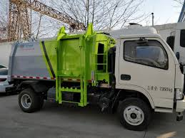 China 4X2 Rubbish Truck Small Garbage Truck 4X2 Gasoline Garbage ...