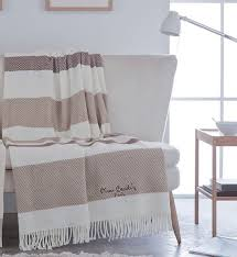cardin designer luxus decke samtweich 140 x 180 cm schlafzimmer wohnzimmer tagesdecke kuscheldecke camel pa901