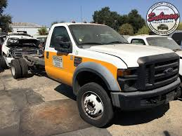 100 Wrecked Ford Trucks For Sale Used Parts 2008 F450 XL 64L V8 Diesel Engine Subway Truck