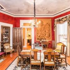 Inspiration For A Mid Sized Victorian Light Wood Floor Enclosed Dining Room Remodel In St