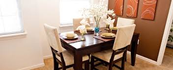 BayShore Apartments In Greenwood Model Dining Room