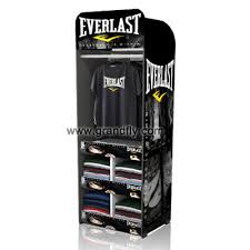 T Shirt Clothing Cardboard Temporary Display Stand