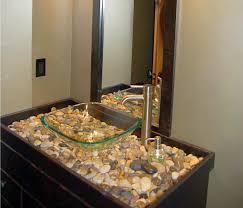 Horse Trough Bathtub Ideas by Bathrooms Brown Rustic Wood Bathroom Vanity With White Vanity