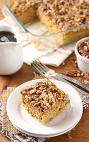 Pumpkin Pie With Pecan Streusel Topping by Maple Pecan Pumpkin Baked Oatmeal A Kitchen Addiction