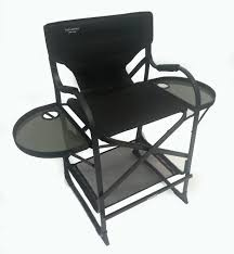 Professional Tall Folding Directors Chair by Tuscany Pro Makeup Chair Review Youtube