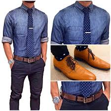Fantastic Want To Stand Out Pick Grey Pants With Brown Shoes And Belt The