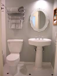 Half Bathroom Ideas With Pedestal Sink by Awesome Design Of Cabinet For Half Bathroom Ideas Amidug Com
