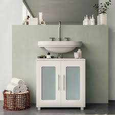 vicco waschbeckenunterschrank rayk weiß unterschrank