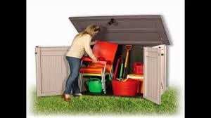 Keter Woodland Storage Box by Buy Garden Storage Box All Purpose Garden Storage Unit Youtube