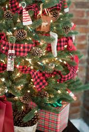 Plaid Ribbons Look Absolutely Amazing When Youre Incorporating A Rustic Or Countryside Christmas Theme To Your Decor Heres Small Sized Tabletop Tree