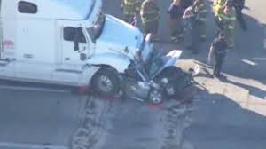100 Truck Wrecks Videos Woman Killed In Wreck On Highway 225 After Car Crushed By