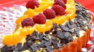 schüttelkuchen pudding mandarinen
