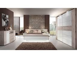 schlafzimmer rubio 21v sandeiche weiß ehebett 2x nako schrank kommode expendio