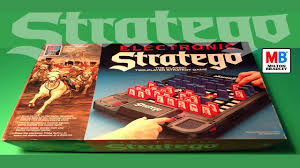 Vintage 1982 Electronic Stratego War Board Game By Milton Bradley