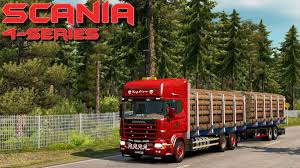 Euro Truck Simulator 2 - Scania 4 Series Tandem - Test Drive ...