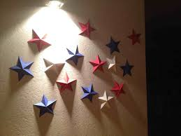 Wall Decoration With Paper Star To Make Butterflies Decor Diy Crafts Youtube Shaped S Free Image
