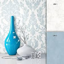 newroom barocktapete tapete beige ornament barock vliestapete blau vlies moderne design optik barocktapete wohnzimmer landhaus inkl tapezier ratgeber