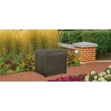 Suncast Patio Storage Box by Small Deck Boxes Deck Boxes Sheds U0026 Storage Suncast Corporation