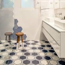 encaustic cement tile pinstripe honeycomb 8 hexagon special order