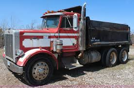 100 359 Peterbilt Show Trucks 1980 Dump Truck Item K6757 SOLD April 23