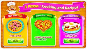 jeux cuisine pizza maker jeux de cuisine applications android sur play
