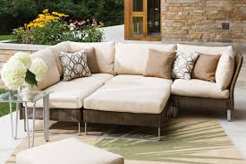 Outdoor Deep Seating Sectional Sofa by Mhc Outdoor Living