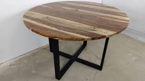 esstisch küchentisch esszimmer tisch massiv holz design rund ø 120 cm modern