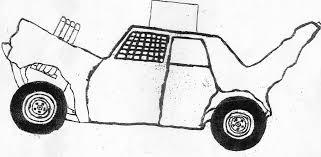 Demolition Derby Car Clipart Pinewood