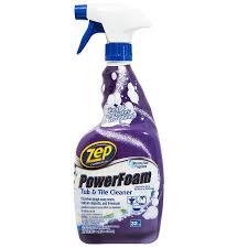 shop zep commercial power foam tub tile 32 fl oz shower