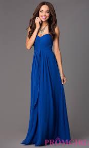 long strapless empire waist prom dress empire prom and grad dresses