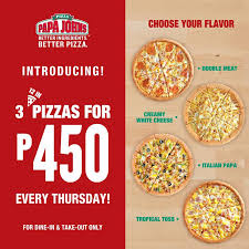 Papa John's 3 Pizzas For Php450 While Promo Lasts - Proud ... Papa Johns Coupons Shopping Deals Promo Codes January Free Coupon Generator Youtube March 2017 Great Of Henry County By Rob Simmons Issuu Dominos Sales Slow As Delivery Makes Ordering Other Food Free Pizza When You Spend 20 Always Current And Up To Date With The Jeffrey Bunch On Twitter Need Dinner For Game Help Farmington Home New Ph Pizza Chains Offer Promos World Day Inquirer 2019 All Know Before Go Get An Xl 2topping 10 Using Promo Johns Coupon 50 Off 2018 Gaia Freebies Links