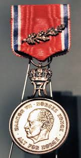 st olav s medal with oak branch wikipedia