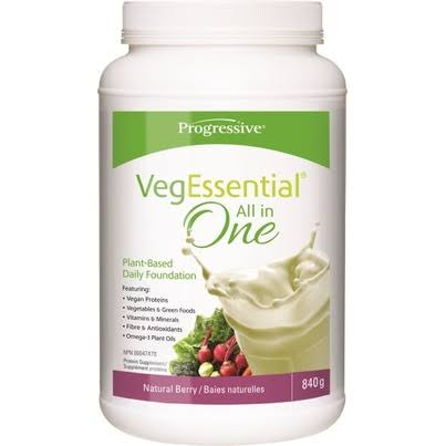 Progressive Vegessential All in One - Natural Berry - 840 G Powder