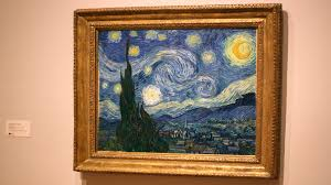 Van Goghs The Starry Night Is Instantly Recognizable From Front But What About Behind Not So Easy