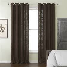 chic brown room cheap curtains and drapes