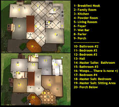 Sims 3 Floor Plans Small House by Floor Plans For Sims 2 Houses House Plans