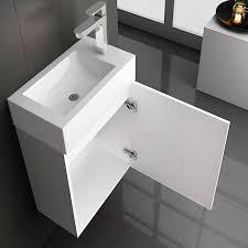 home deluxe badmöbel set langeoog gästebad 3 tlg breite 40 cm modernes gäste bad