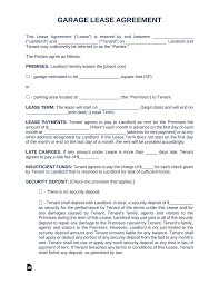 100 Commercial Truck Lease Agreement Free Garage Parking Rental Template PDF Word